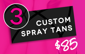 Triple Threat 3 Spray Tans for $85