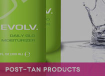 post-tan sunless tanning products