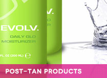 post-tan spray tanning products
