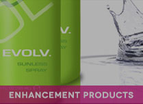 spray tanning enhancement products